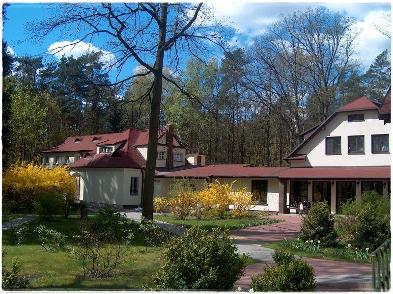 Dom Rekolekcyjny - widok obecny