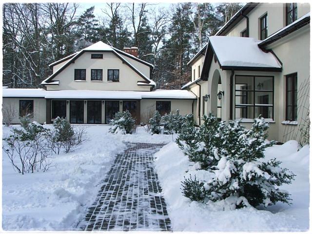 Dom Rekolekcyjny w zimowej szacie