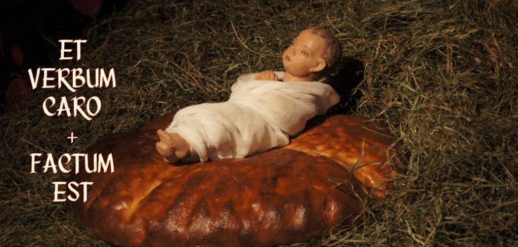 Dzieciątko Jezus na chlebie