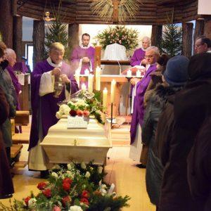 Pogrzeb śp. s. Lucjany od Ducha Świętego i Niepokalanej